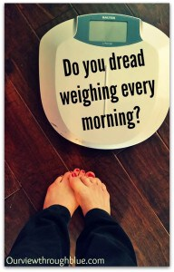 The dreaded scale…
