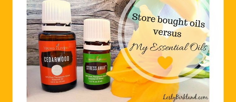 Whats the difference between your essential oils and the ones I can get at the store?