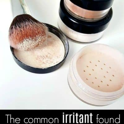 The common irritant found in most mineral based makeup brands.