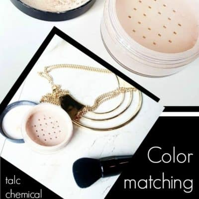 Color matching your powdered foundation
