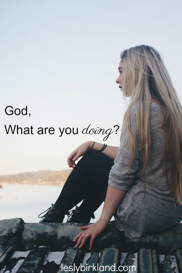 God, what are you doing?