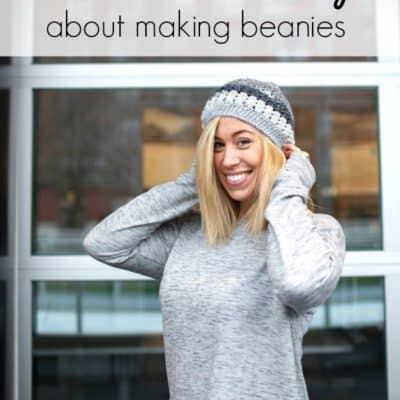 What I find rewarding about making beanies