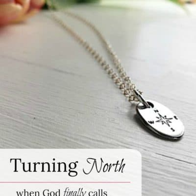 Turning North – when God finally calls you in a new direction