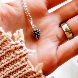 pine cone necklace for her