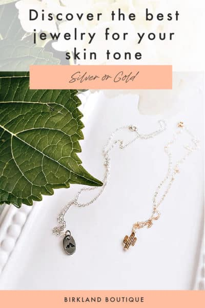 Discover the best jewelry for your skin tone