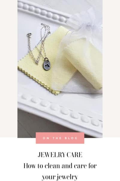 how to clean jewelry