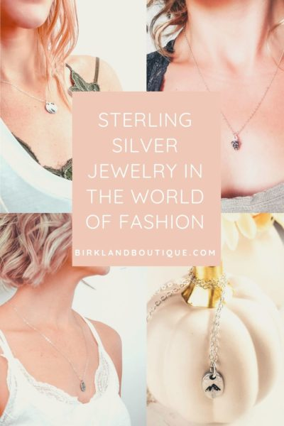 Sterling Silver Jewelry in the world of fashion